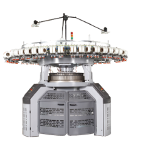 High speed double knit  machine