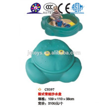 Children cheap outdoor plastic Sand and water dish