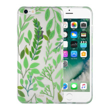 IML Transparent Green Plants Fullpackad iPhone6s Cover