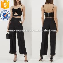 Schwarz Sexy Bralette Top Herstellung Großhandel Mode Frauen Bekleidung (TA4013B)