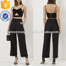 Noir Sexy Bralette Top Fabrication en gros Mode Femmes Vêtements (TA4013B)