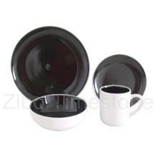 16PCS Stoneware Double Color Glazed Dinner Set (TM7502)