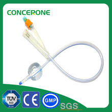 Pediatric and Adult Pure Silicon Foley Catheter