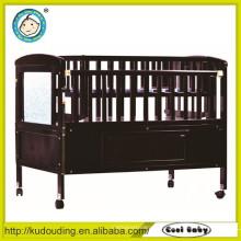 China Lieferant Baby Holzbett Modelle