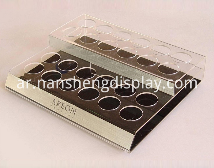 Acrylic Cosmetics Makeup Display Custom Advertising Showcase
