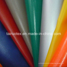 Tissu enduit imperméable de bâche de PVC pour la tente, usure extérieure de bagage