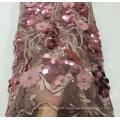 Luxuriöse, elegante Applikations-Spitzenstoffe für das Kleid