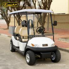 4 китайских сиденье тележки для гольфа мини-клуб автомобиль гольф-кары электрический багги автомобиль с грузом