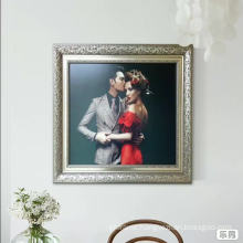 Wall hanging gold picture frame wholesale