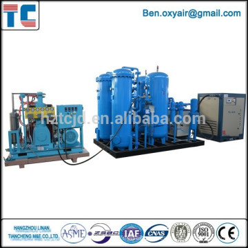 Psa planta de producción de oxígeno con ahorro de energía (agente necesario)