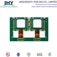 OEM Factory 4 couches Rigide Flex PCB avec doigt d'or