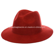 100%Wool Fedora Hat, Wool Felt Hat