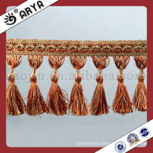 Hot Handmade Lace Tassel Trim ,Fringes and Trims with Beautiful Trim