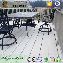 PWC roof top terrace waterproof composite deck top rail