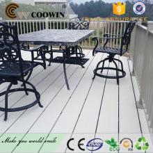 PWC telhado terraço superior impermeável compósito deck ferroviário superior