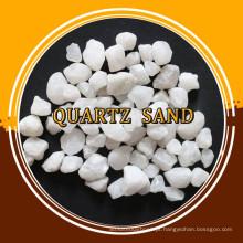 Areia de quartzo duro branco à venda