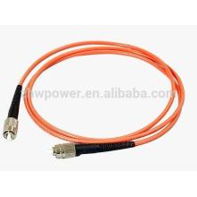 OEM China fonte G652D G657A FC 3m singlemode multimodo cabo de remendo de fibra óptica preço