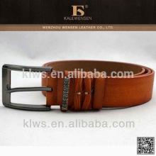 Folding genuine custom leather belts