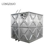 Tanque de agua de acero galvanizado por inmersión en caliente