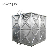 Tanque de água de aço galvanizado por imersão a quente
