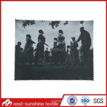 Microfaser Objektiv Reinigungstuch mit Digitaldruck Foto