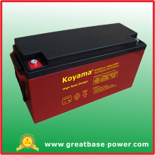 High Rate Power Maintenance Free Lead Acid Battery 150ah 12V