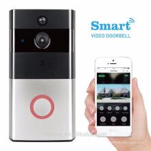 Sistema de intercomunicación video del teléfono de la puerta video del teléfono de la puerta del teléfono video de la puerta de la puerta video del wifi con el Dingdong interior