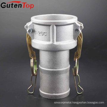 GutenTop Low price 304/316 SS/aluminum camlock quick coupling Type c
