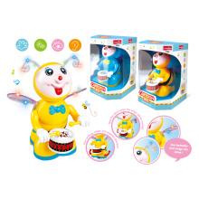 Bateria operado brinquedos cartoon com luz e música (h0278047)