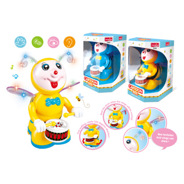 Battery Operated Cartoon Toys with Light and Music (H0278047)
