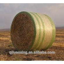 Round hay bale net wrap for agriculture