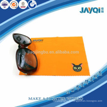 Lunettes de microfibre orange 220gsm chiffon propre
