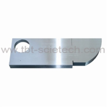 Bloc de test standard NDT ultrasonique T-BOTA