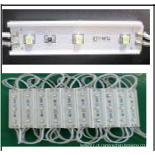 12V DC Alto Brilho SMD LED Moudle