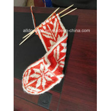 Hand Knitted High Knee Boot Socks Women New Classics Design