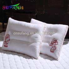 Roupa de cama do hotel / hotel de enchimento barato por atacado do microfiber do poliéster / travesseiro hospitalares