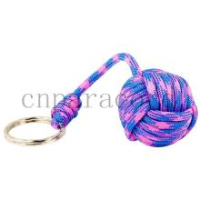 Bright Pink + Sky Blue paracord monkey fists  cheap