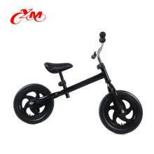 Hohe Qualität kein Pedal grün Baby Balance Bike / Exerciese Kinder gehen Fahrrad schieben / Heißer Verkauf Balance Fahrrad 12 Zoll