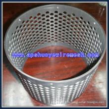 Алюминиевое Круглое Отверстие Перфорированный Металлический Лист