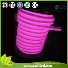 Tira flexible redonda del neón del LED con 2 años de garantía de la fábrica