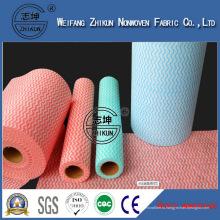 Ткань Spunlace Полиэфира Напечатанная Ткань Nonwoven Ткань