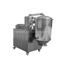 O alimentador a vácuo é adequado para materiais finos