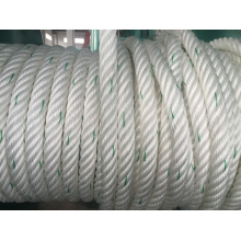 6-Strand Chemical Fiber Ropes Mooring Rope PP Rope Polyester Rope PE Rope
