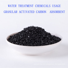 Adsorbente de carbón activado granular de las sustancias químicas del tratamiento de aguas