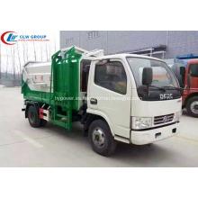 VENTA CALIENTE Dongfeng 4cbm camión de cargador lateral multi