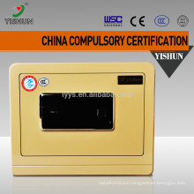 Cheap electronic portable fireproof secure lock box