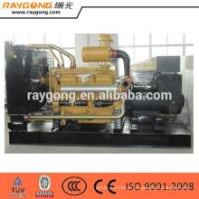 400КВТ Открытый Тип Тепловозный комплект генератора ShangChai комплект 50Hz