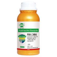 Formulation d'insecticide agrochimique à chaud Sc d'étersoxazole 20% + Avermectine 5%
