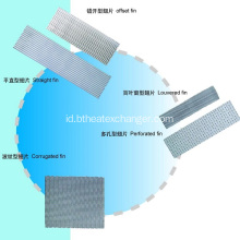 Heat Exchanger Fins: Sirip Aluminium / Tembaga / SS