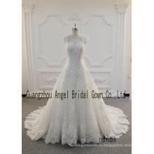 Ридал кружева для свадебного платья ручной работы кружево ткань 2017 Оптовые продажи
